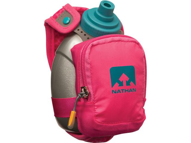 Nathan QuickShot Plus - Accesorios running - 300ml gris/rosa